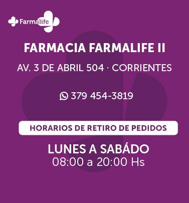 Farmalife 2 - Av. 3 de abril 504